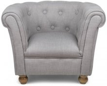 Chesterfield Chair Grey