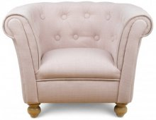 Dusty Pink Chesterfield Chair