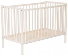 Cot Basic Whitewash 120*60 cm